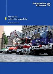 Broschüre für Anforderer des Technischen Hilfswerk.